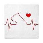 Cane Corso Heartbeat Queen Duvet