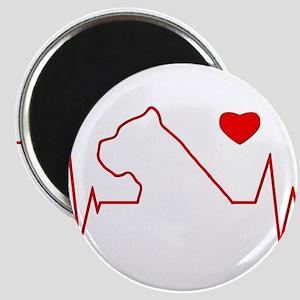 Cane Corso Heartbeat Magnet