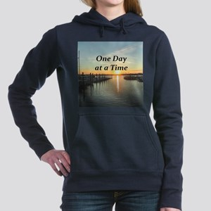 ONE DAY AT A TIME Women's Hooded Sweatshirt