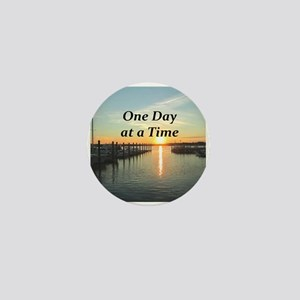 ONE DAY AT A TIME Mini Button