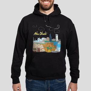 Abu Dhabi in the United Arab Emirates Hoodie