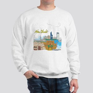 Abu Dhabi in the United Arab Emirates Sweatshirt
