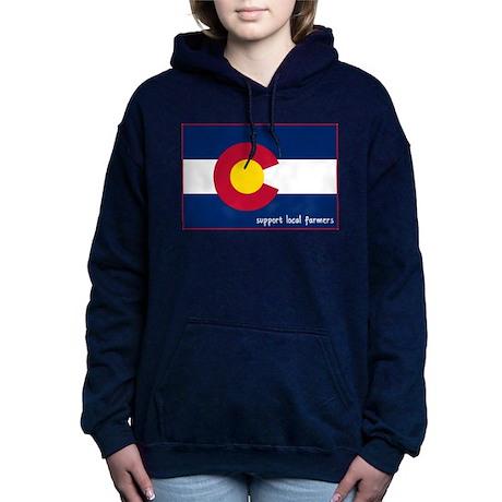 Support Local Farmers Women's Hooded Sweatshirt