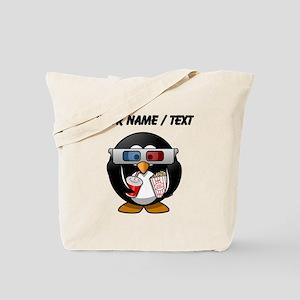 Custom Cinema Penguin Tote Bag