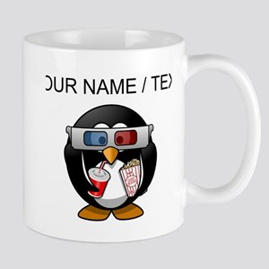 Custom Cinema Penguin Mugs