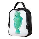Green Humphead Parrotfish C Neoprene Lunch Bag
