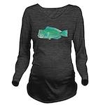 Green Humphead Parrotfish C Long Sleeve Maternity