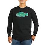 Green Humphead Parrotfish C Long Sleeve T-Shirt