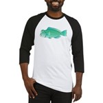 Green Humphead Parrotfish C Baseball Jersey