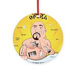 Operation Opera Logo Ornament (Round)