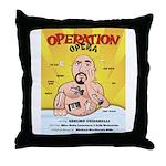 Operation Opera Logo Throw Pillow