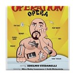 Operation Opera Logo Tile Coaster