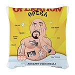 Operation Opera Logo Woven Throw Pillow