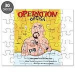 Operation Opera Logo Puzzle