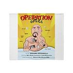 Operation Opera Logo Throw Blanket