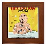 Operation Opera Logo Framed Tile