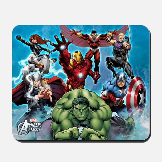 Avengers Assemble Team Mousepad