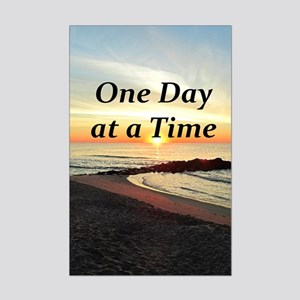 ONE DAY AT A TIME Mini Poster Print