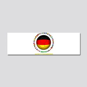 Germany World Champions 2014 Car Magnet 10 x 3