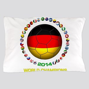 Germany World Champions 2014 Pillow Case