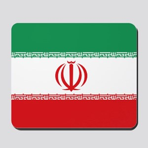 Jomhuri ye Eslami ye iran flag Mousepad