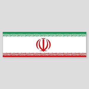 Jomhuri ye Eslami ye iran flag Bumper Sticker