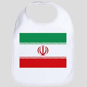 Jomhuri ye Eslami ye iran flag Bib