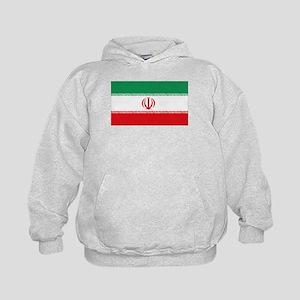 Jomhuri ye Eslami ye iran flag Kids Hoodie