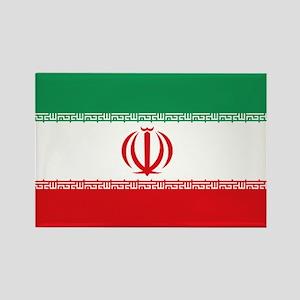 Jomhuri ye Eslami ye iran flag Rectangle Magnet