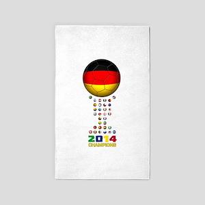 Germany World Champions 2014 3'x5' Area Rug
