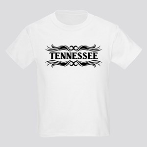 Tribal Tennessee Kids Light T-Shirt
