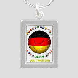 Deutschland Weltmeister 2014 Necklaces