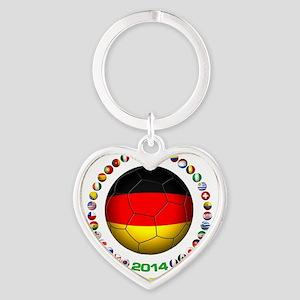 Deutschland Weltmeister 2014 Keychains