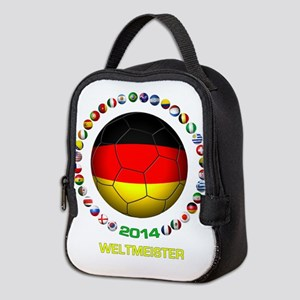 Deutschland Weltmeister 2014 Neoprene Lunch Bag
