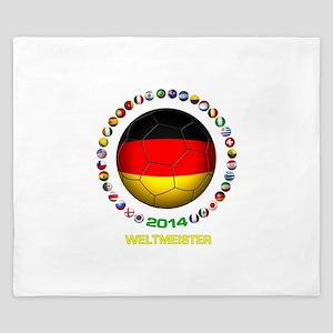 Deutschland Weltmeister 2014 King Duvet
