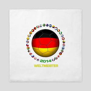Deutschland Weltmeister 2014 Queen Duvet