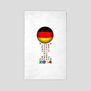 Germany soccer 3'x5' Area Rug