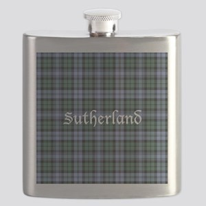 Tartan - Sutherland dist. Flask
