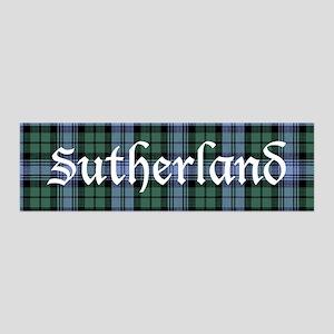 Tartan - Sutherland dist. 36x11 Wall Decal