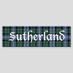 Tartan - Sutherland dist. Sticker (Bumper)