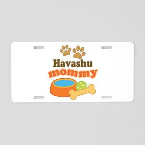 Havashu mom Aluminum License Plate
