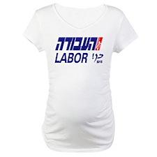 2015 Israel Labor Party Maternity T-Shirt