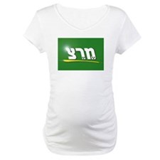 Meretz Party Logo Maternity T-Shirt