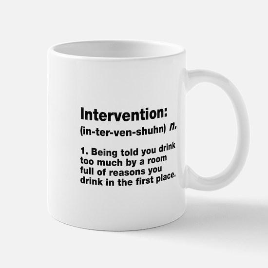 Intervention Mugs