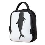 Pilot Whale c Neoprene Lunch Bag