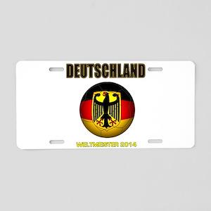 Deutschland Weltmeister 2014 Aluminum License Plat