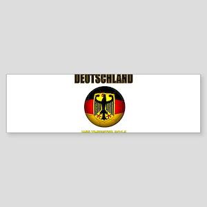 Deutschland Weltmeister 2014 Bumper Sticker