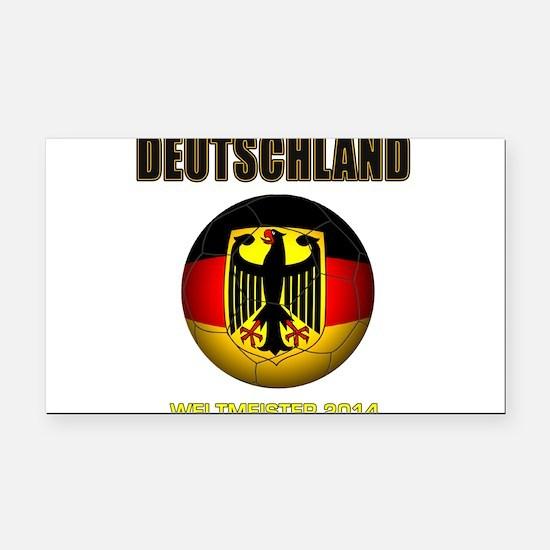 Deutschland Weltmeister 2014 Rectangle Car Magnet