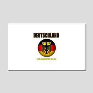 Deutschland Weltmeister 2014 Car Magnet 20 x 12