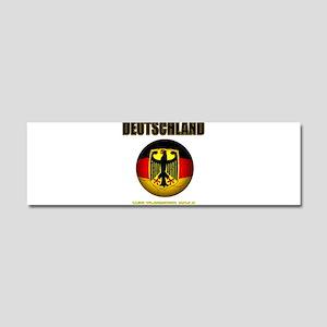 Deutschland Weltmeister 2014 Car Magnet 10 x 3